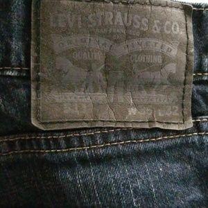 Levi jeans 511 dark wash 36 32